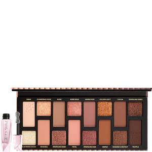 Too Faced Born This Way Natural Nudes Eyeshadow Palette and Damn Girl! Mascara Bundle