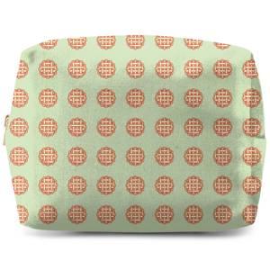 Pie Pattern Wash Bag