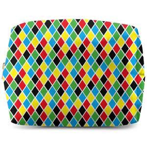 Clown Pattern Wash Bag