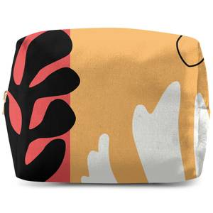Abstract Warm Leaves Wash Bag
