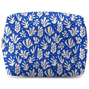 Cool Tone Leaves Wash Bag