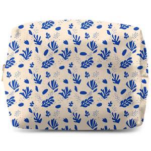 Nude Tone Leaves Wash Bag