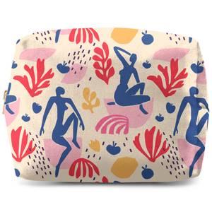 Light Tone Silhouette Wash Bag