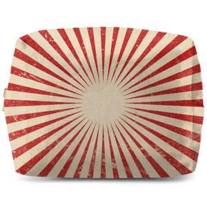 Circus Beams Red Wash Bag