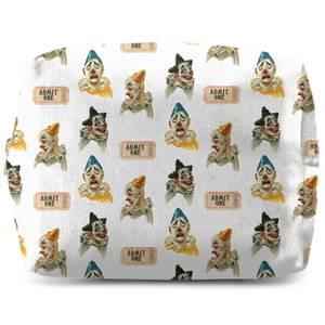 Circus Clown Pattern Wash Bag
