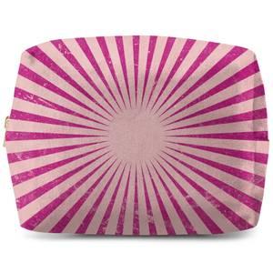 Circus Beams Pink Wash Bag