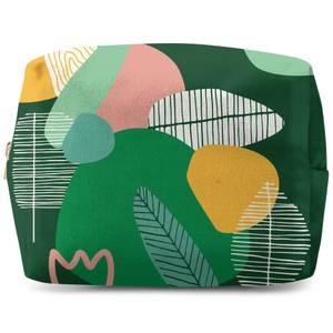 Earth Garden Print Wash Bag