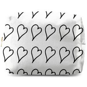 Hearts Wash Bag