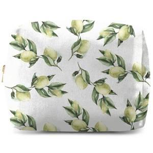Printed Flowers Wash Bag