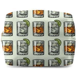 Whisky And Vodka Wash Bag