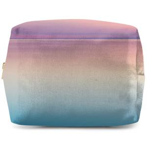 Sunset Blue And Pink Wash Bag