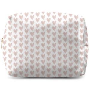 Pink Hearts Wash Bag