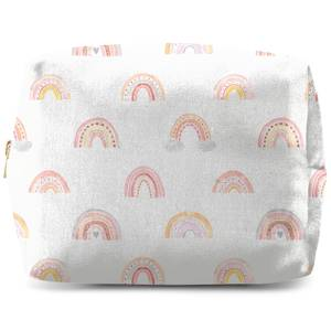 Rainbow Pattern Wash Bag
