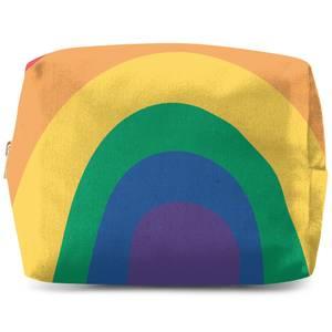 Close Up Rainbow Wash Bag