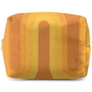 Yellow Groove Wash Bag