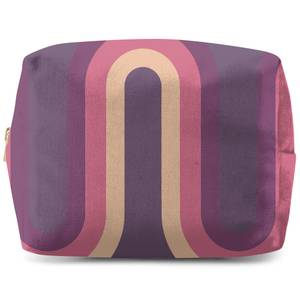 Purple Groove Wash Bag