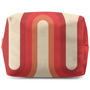 Red Groove Wash Bag