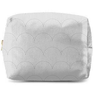 Trippy Rainbow Grey Wash Bag