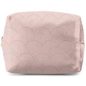 Trippy Rainbow Pink Wash Bag