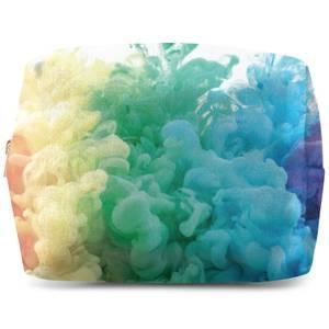 Rainbow Smoke Wash Bag