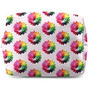 Fluro Flower Pattern Light Wash Bag