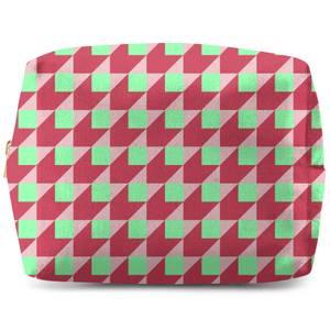 Colourful Squares Wash Bag