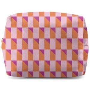 Colourful 3D Shape Wash Bag