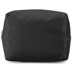 Inky Clustered Dots Wash Bag