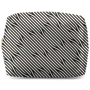 Diagonal Parallels Wash Bag