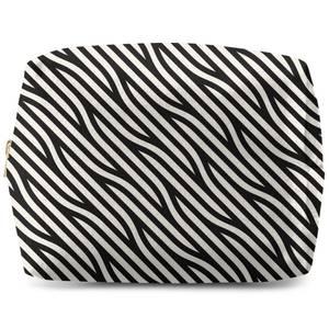 Bold Diagonal Lines Wash Bag