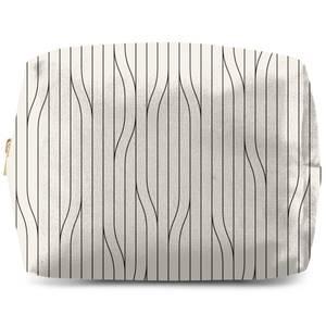 Thin Warped Lines Wash Bag