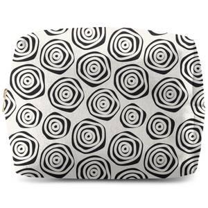 Polka Dot Spirals Wash Bag