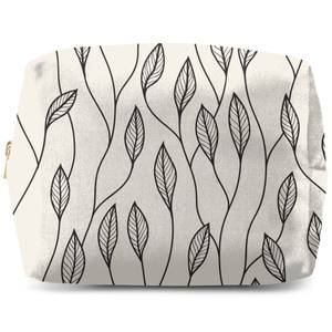 Entwined Leaves Wash Bag
