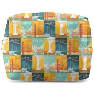 Travel The Americas Wash Bag
