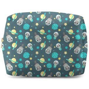 Raccoon In Space Wash Bag