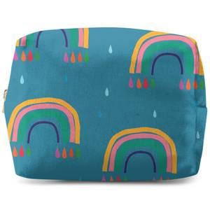 Rainbows & Rain Wash Bag