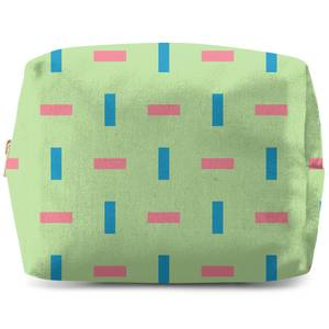 Spaced Bricks Wash Bag