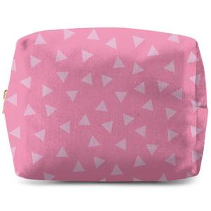 Bold Triangles Wash Bag
