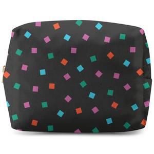 Rainbow Bold Blocks Wash Bag