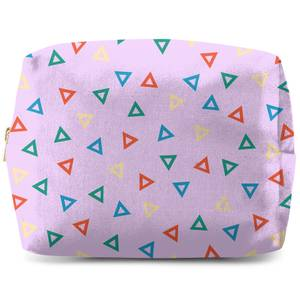 Rainbow Triangles Wash Bag