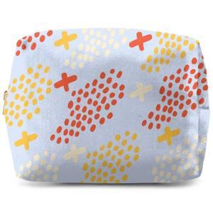 Dots And Crosses Wash Bag