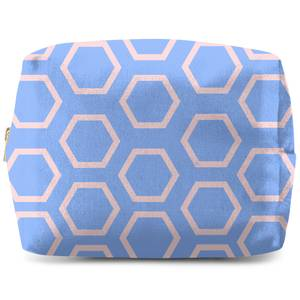 Hexagons Wash Bag