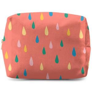 Rainbow Rain Drops Wash Bag
