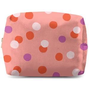 Mixed Colours Dots Wash Bag
