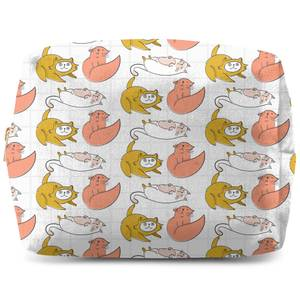 Cat Pattern Wash Bag
