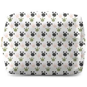 Paw Pattern Wash Bag