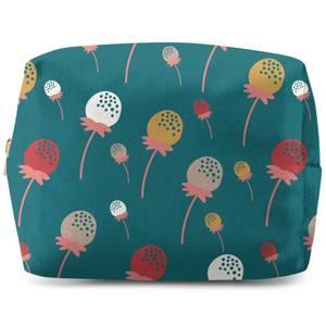 Retro Strawberries Wash Bag