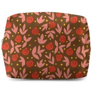 Retro Roses Wash Bag