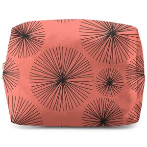 Abstarct Blood Lilly Wash Bag