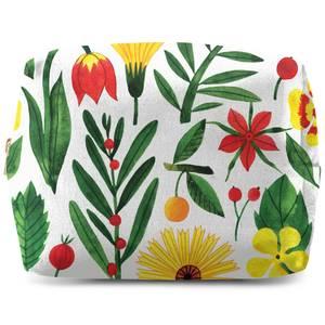 Retro Florals Wash Bag